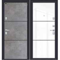 Дверь входная металлическая Porta (ЭльПорта) M П50.П50 (AB-4) Dark Concrete/Angel